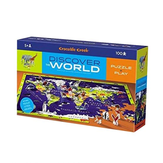 *New* 100-Piece Discover Puzzle - World Animals by Crocodile Creek