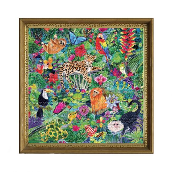 *New* Amazon Rainforest 1000-Pc Puzzle by eeBoo