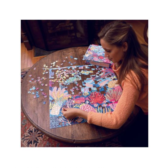 *New* Coral Reef 1000-Pc Puzzle by eeBoo