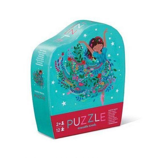 *New* 12-Piece Mini Puzzle - Dance Magic by Crocodile Creek