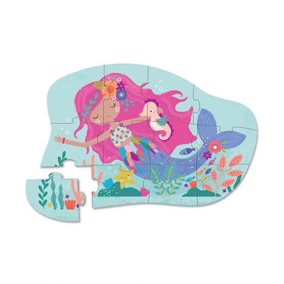 *New* 12-Piece Mini Puzzle - Mermaid Dreams by Crocodile Creek