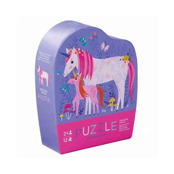 *New* 12-Piece Mini Puzzle - Unicorn Magic by Crocodile Creek