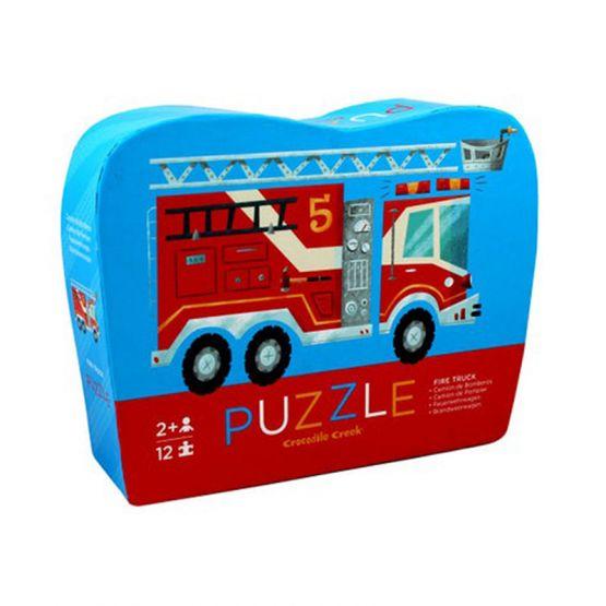 *New* 12-Piece Mini Puzzle - Fire Truck by Crocodile Creek