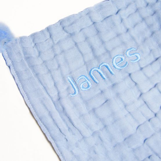*New* Personalisable Keepsake Baby Soother in Baby Blue