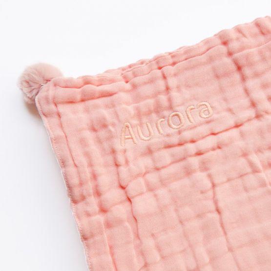 *Bestseller* Personalisable Keepsake Kids/Adult Single Blanket in Baby Pink