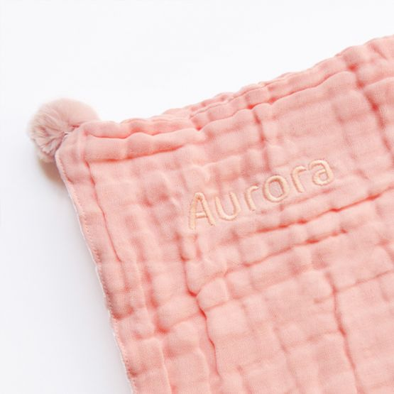 *New* Personalisable Keepsake Baby Soother in Baby Pink