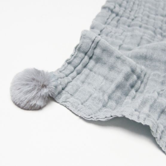 *New* Personalisable Keepsake Baby Soother in Grey