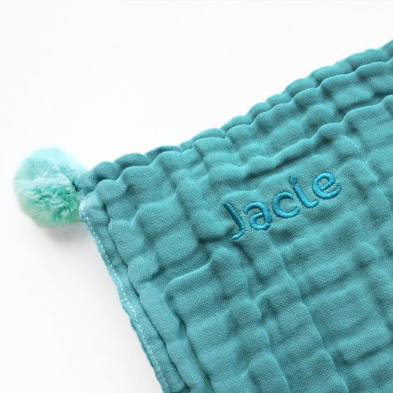 *New* Personalisable Keepsake Baby Soother in Teal