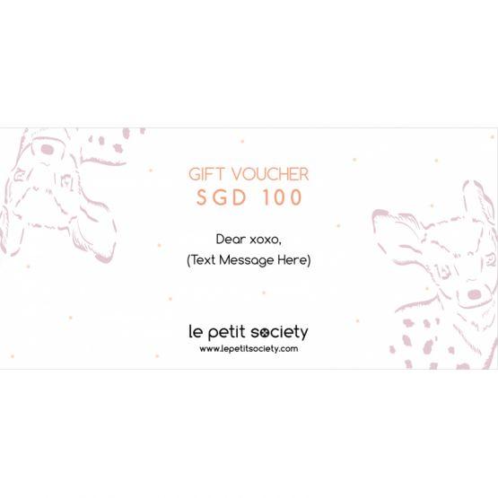 Gift Voucher SGD100 Value