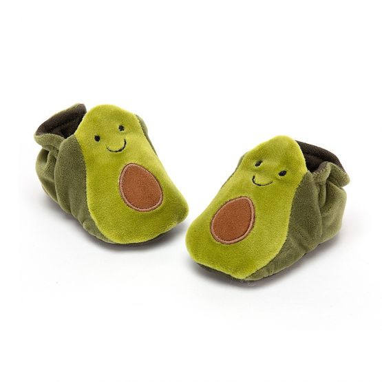 Amuseable Avocado Booties (Boxed) by Jellycat