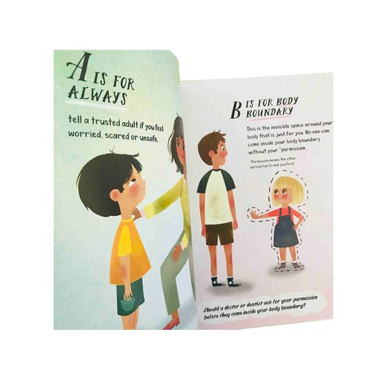 *New* ABC of Body Safety and Consent by Groovy Giraffe