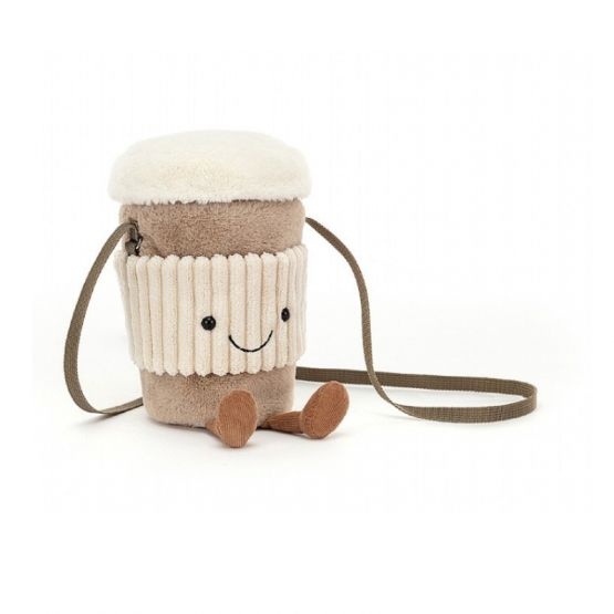 Amuseable Coffee-To-Go Bag by Jellycat