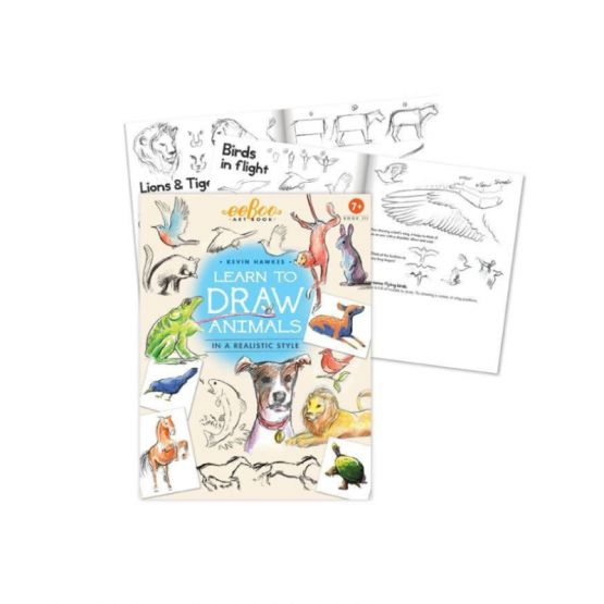 *New* Art Book 3: Learn To Draw Animals by eeBoo