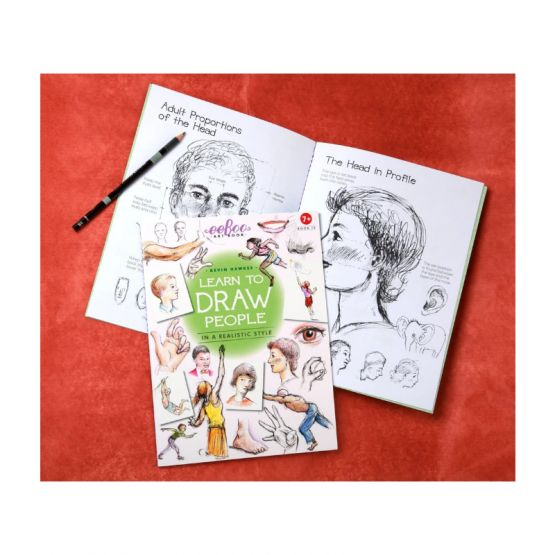 *New* Art Book 4: Learn To Draw People by eeBoo