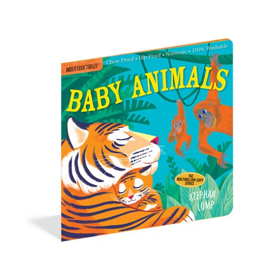Indestructibles: Baby Animals by Monster Bookery