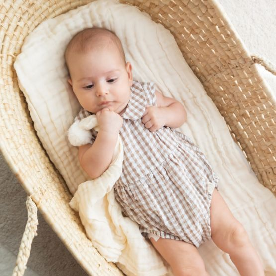 *New* Personalisable Keepsake Baby Soother in Cream