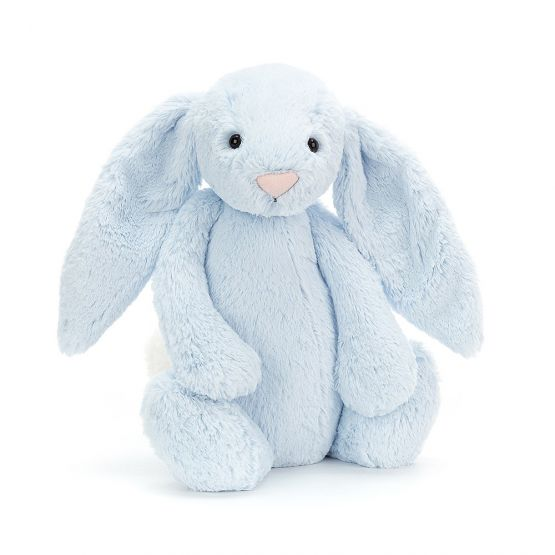 Personalisable Bashful Blue Bunny (Large) by Jellycat