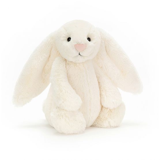 Personalisable Bashful Cream Bunny by Jellycat