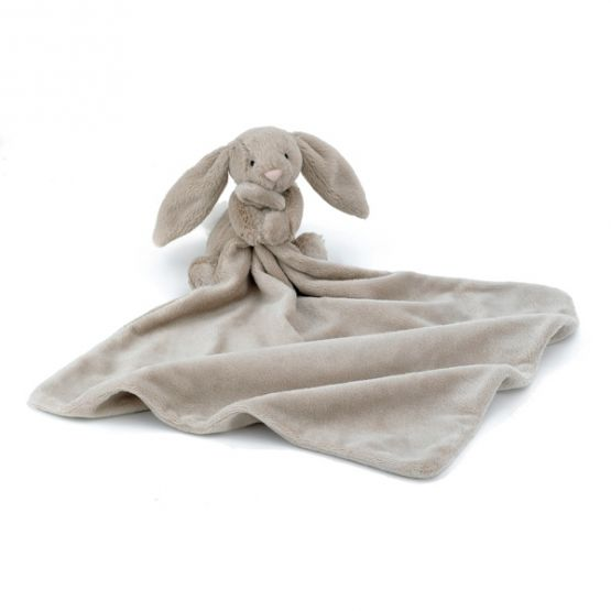 Personalisable Bashful Beige Bunny Soother by Jellycat