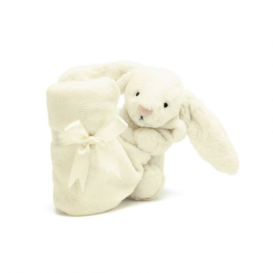 Personalisable Bashful Cream Bunny Soother by Jellycat