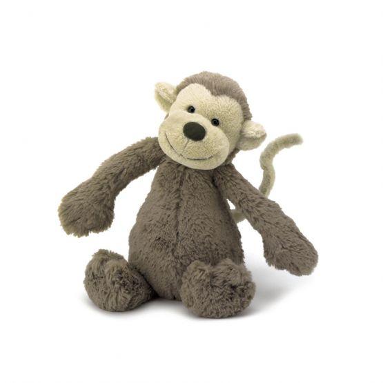 Bashful Monkey (Small) by Jellycat