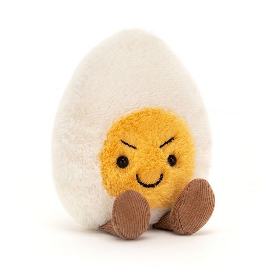 Amuseable Cheeky Boiled Egg by Jellycat