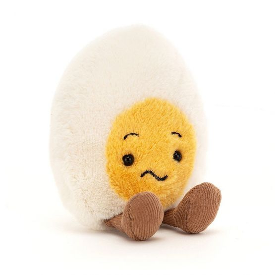 Amuseable Confused Boiled Egg by Jellycat