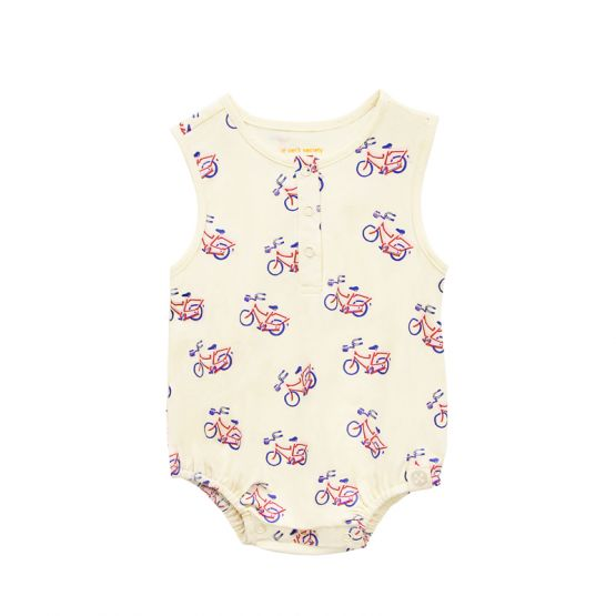 *New* Made For Play - Baby Bubble Romper in Bike Print