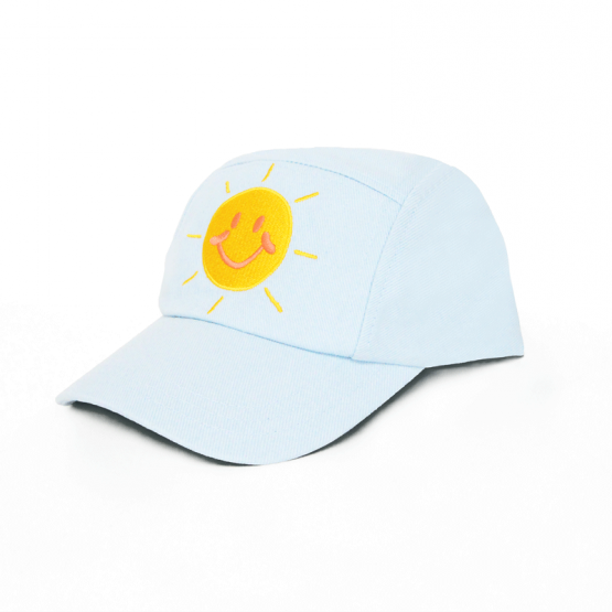 *New* Made For Play - Kids Smiley Cap in Light Denim