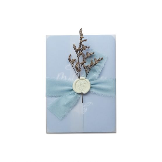 Baby Milestone Diary Cards - Blue by The Letter V Stationer