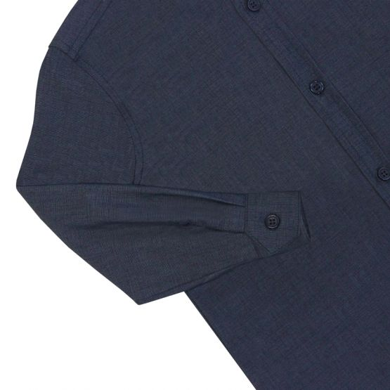 *New* Personalisable Boys Long Sleeve Shirt in Navy