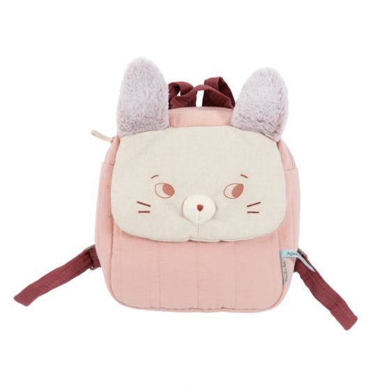 *New* Après La Pluie - Backpack Mouse Brume by Moulin Roty