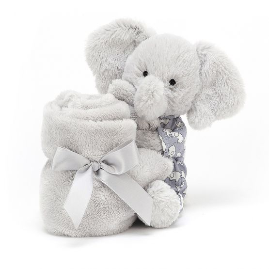 Personalisable Bedtime Elephant Soother by Jellycat