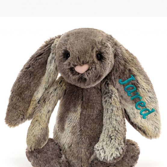 Personalisable Bashful Cottontail Bunny by Jellycat