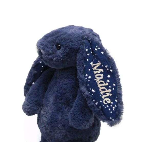 Personalisable Bashful Stardust Bunny by Jellycat