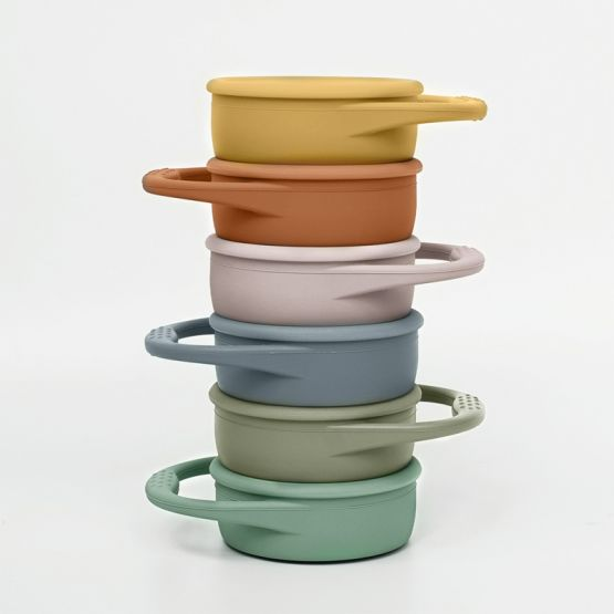 *New* Collapsible Snack Cup in Powder Blue by The Paper Bunny