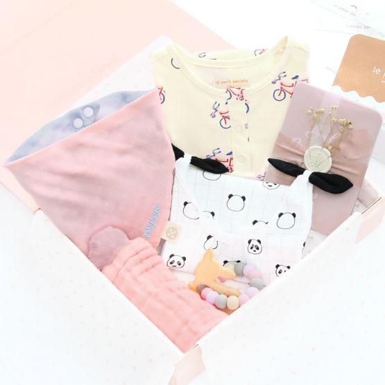 *Bestseller* Baby Girl Gift Set - Coral Joy