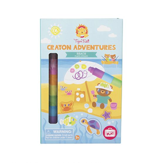 *New* Crayon Adventures - Beach by Tiger Tribe