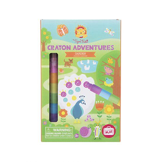 *New* Crayon Adventures - Garden by Tiger Tribe