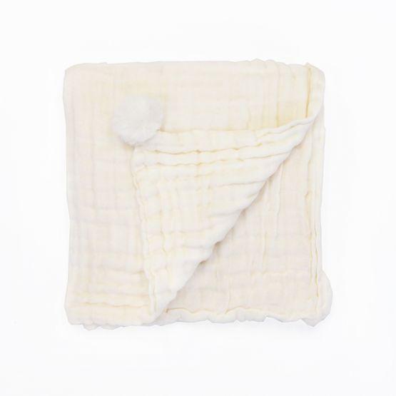 *Bestseller* Personalisable Keepsake Baby Blanket in Cream