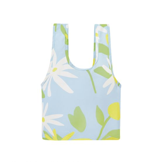 *New* Regular Reusable Bag in Daisy Fields Sky by The Paper Bunny