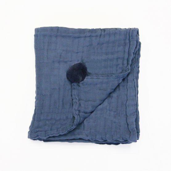 *Bestseller* Personalisable Keepsake Baby Blanket in Navy