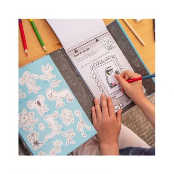 *New* Drawing Inspiration - A Guided Sketchbook by Tiger Tribe