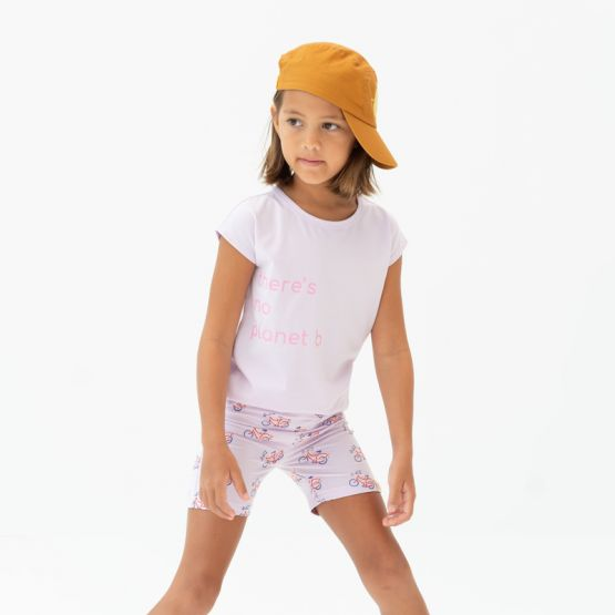 """*New* Made For Play - Girls """"There's No Planet B"""" Drop Sleeve Tee"""