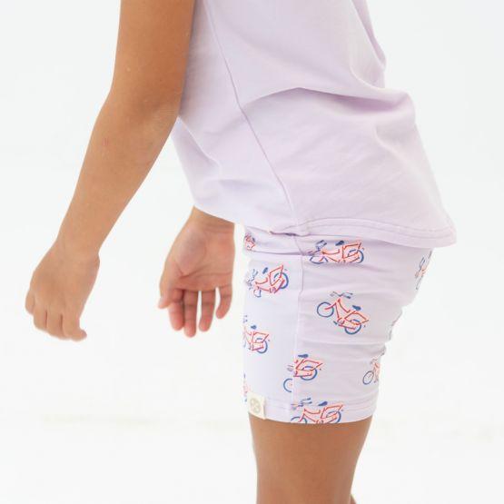 *New* Made For Play - Kids Biker Shorts in Bike Print
