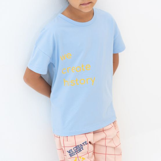 """*New* Made For Play - Kids """"We Create History"""" Boxy Tee"""