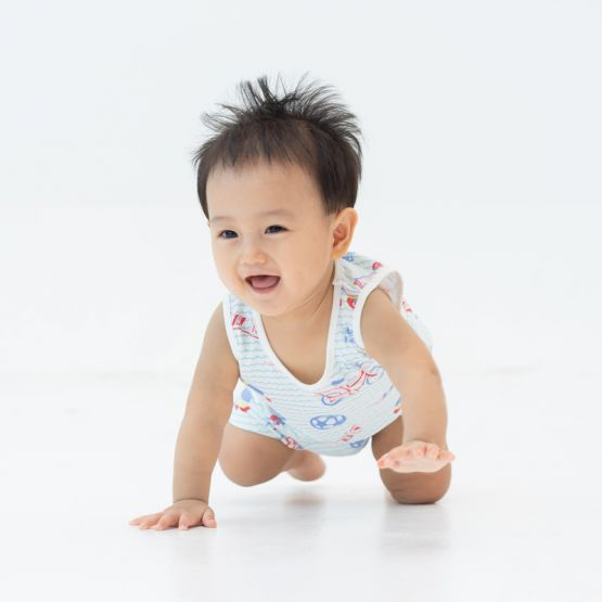 *New* Made For Play - Baby Romper in Sporty Print