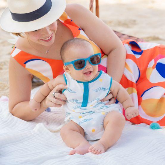 *New* Resort Series - Baby Romper in Waves Print