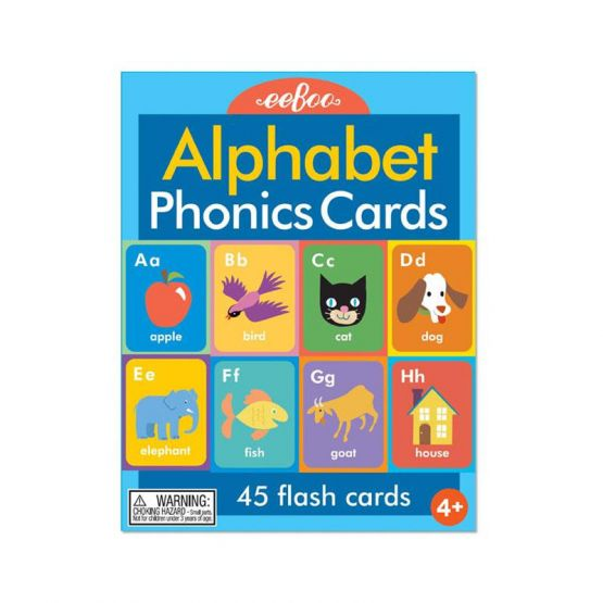Alphabet Phonics Flash Cards by eeBoo