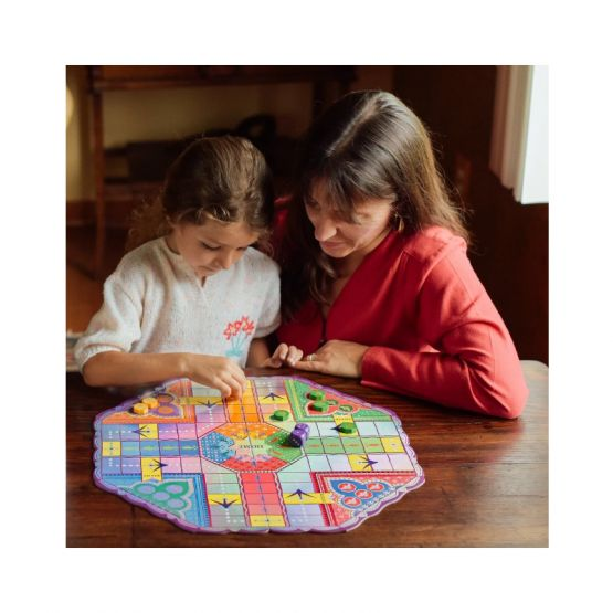 *New* Fancy Pachisi Board Game by eeBoo
